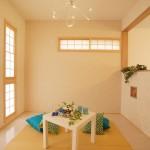 和室もアレンジでポップな雰囲気に!